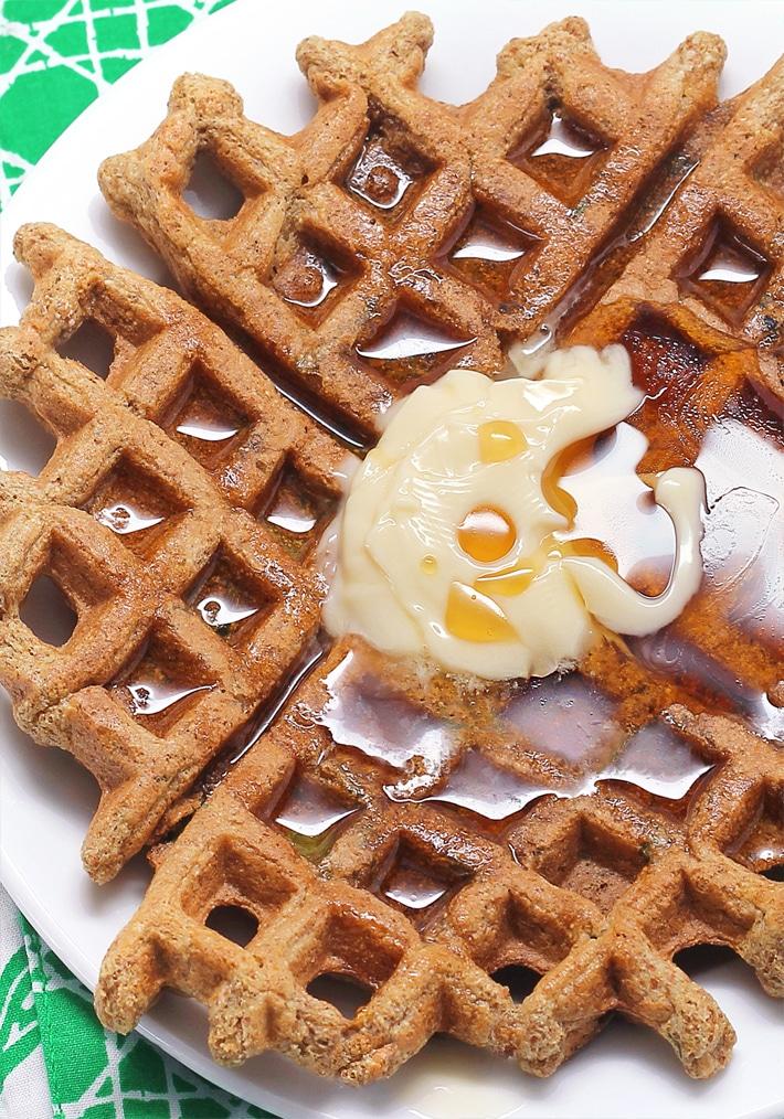 Easy Healthy Gluten Free Waffles