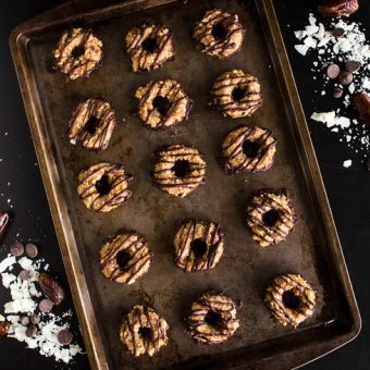 Healthy Samoas Girl Scout Cookies