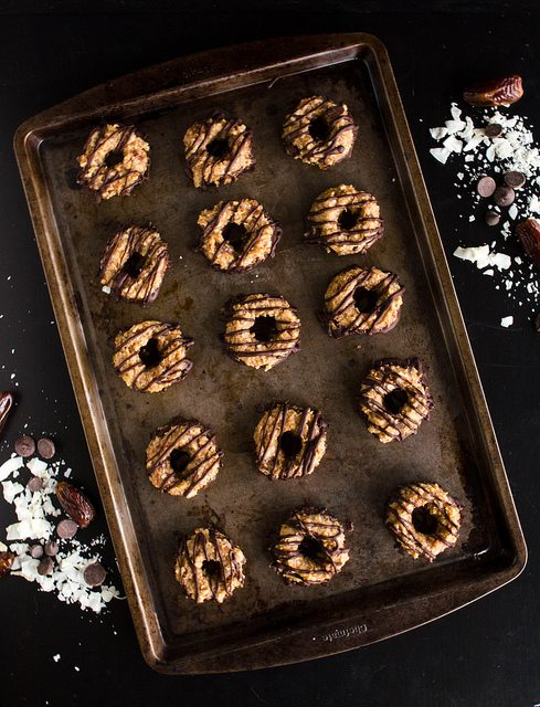 healthy samoas cookies
