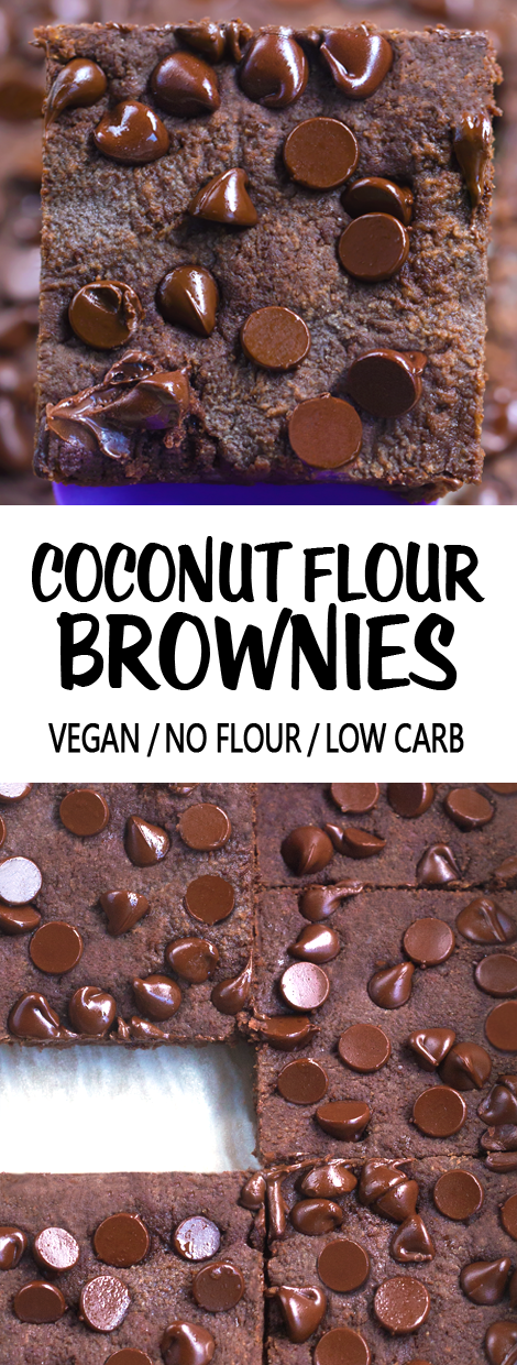 The Best Easy Coconut Flour Brownies