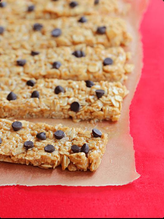 no bake protein granola bars