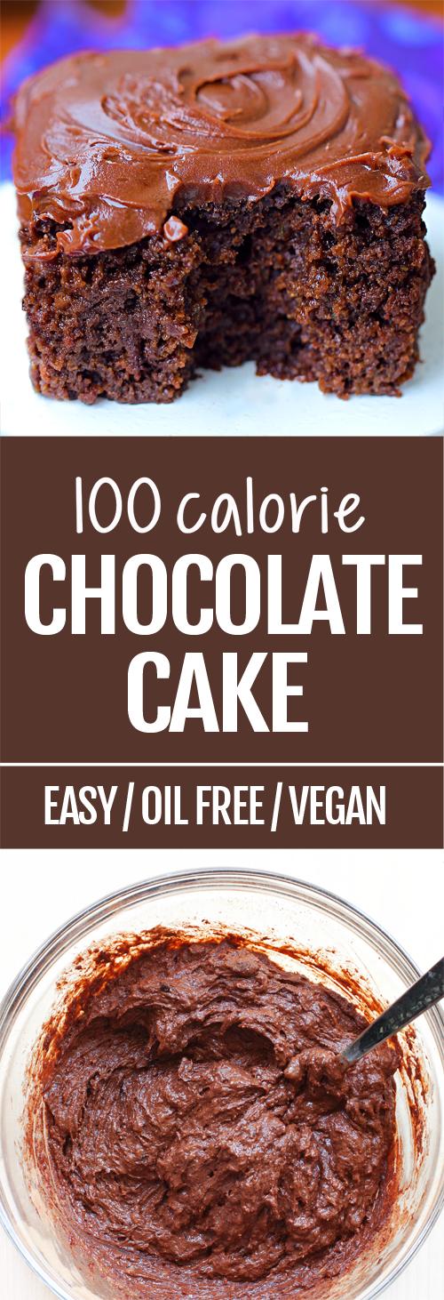 No Calorie Chocolate Cake