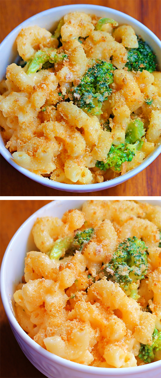 Skinny Baked Healthy Mac And Cheese