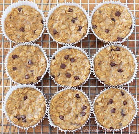 Breakfast Oatmeal Cupcakes
