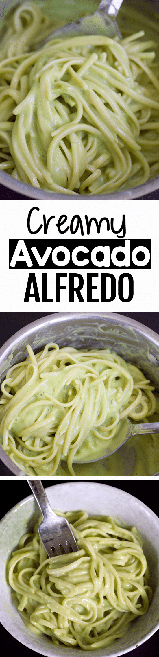 Creamy Secretly Healthy Avocado Alfredo Pasta Sauce Recipe