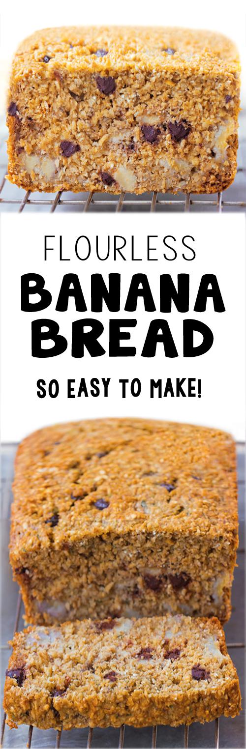 The Best Flourless Banana Bread Recipe