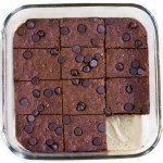 Almond Butter Brownies – Flourless & Vegan