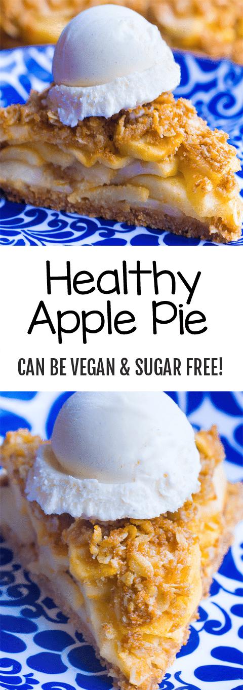 Secretly Healthy Apple Pie Recipe
