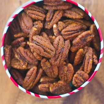 Cinnamon Pecans – Just 5 Ingredients