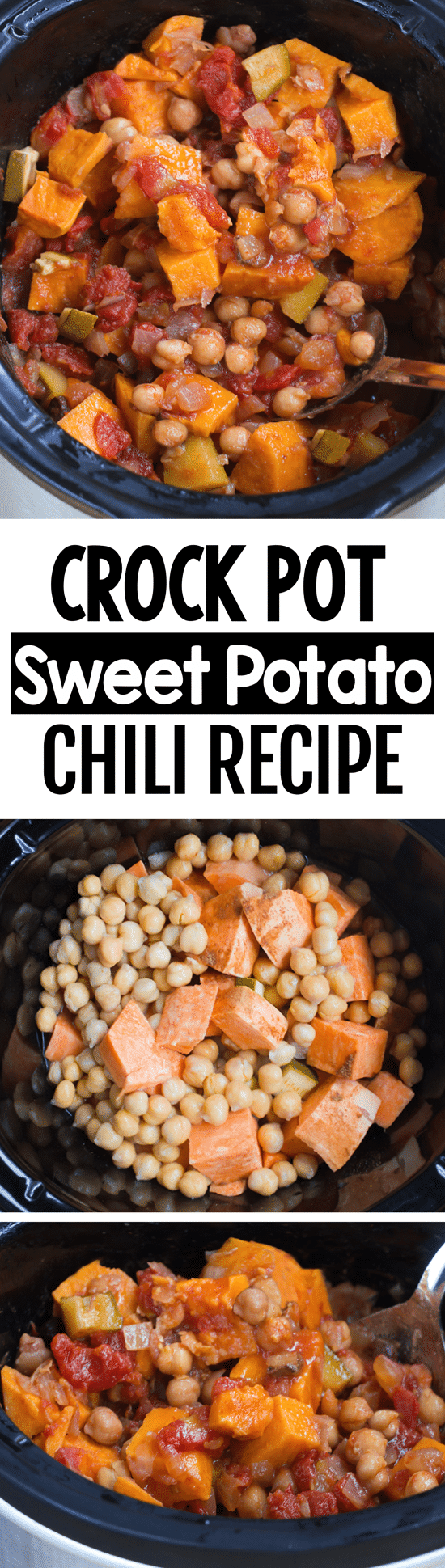 Super Healthy Crock Pot Sweet Potato Chili Recipe