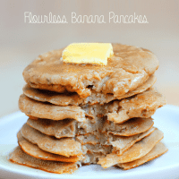 flourless banana pancakes