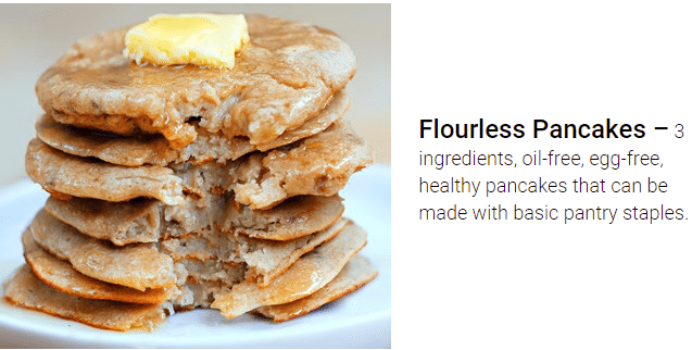 flourless pancakes recipe