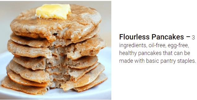 flourless pancakes recipe