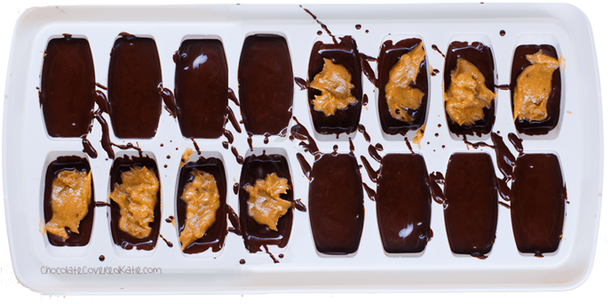 chocolate ice cube tray