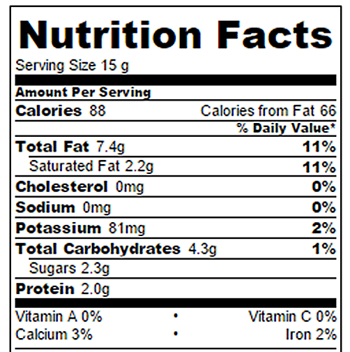 Almond Butter Fudge Nutrition Facts Chocolate Covered Katie