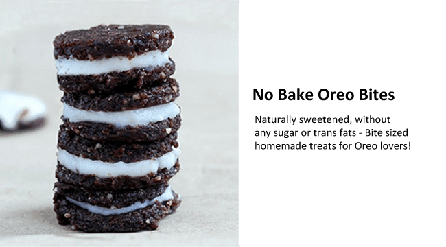 no bake oreos