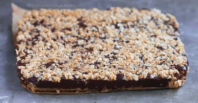 oatmeal chocolate bar