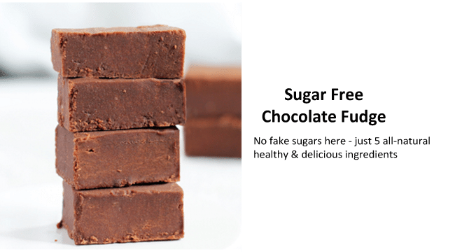sugar free chocolate fudge