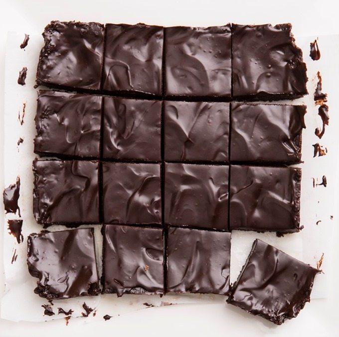 unbaked brownies