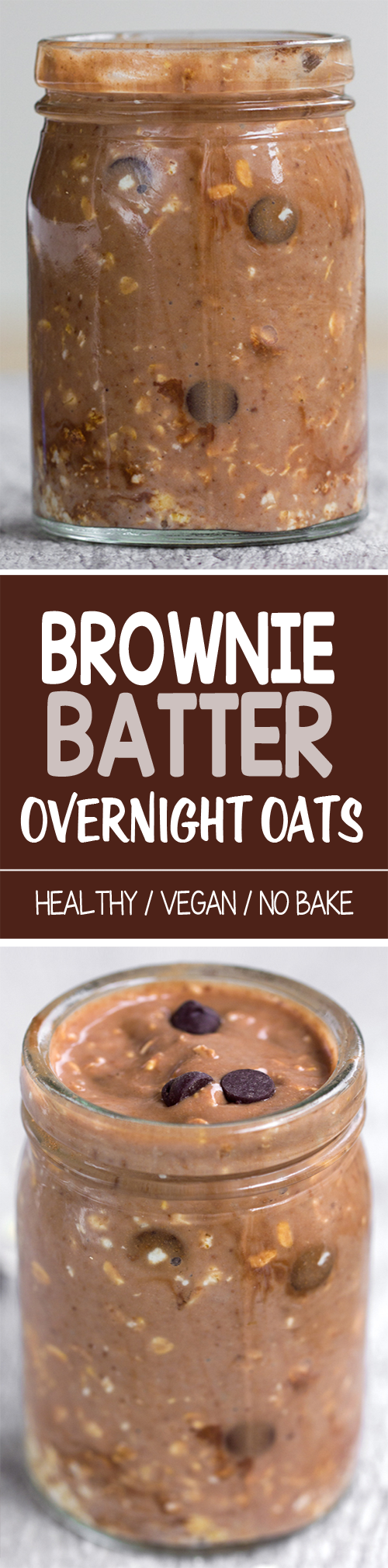 Brownie Batter Overnight Oats. I definitely want to try this!