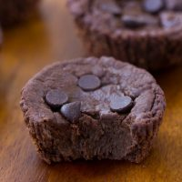 Flourless Chocolate Blender Muffins