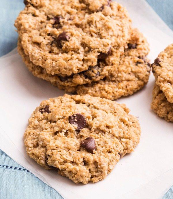 flourless cookies smaller