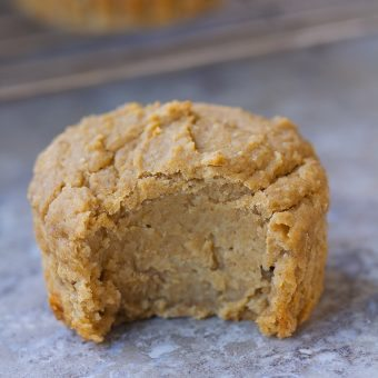 Flourless Banana Blender Muffins
