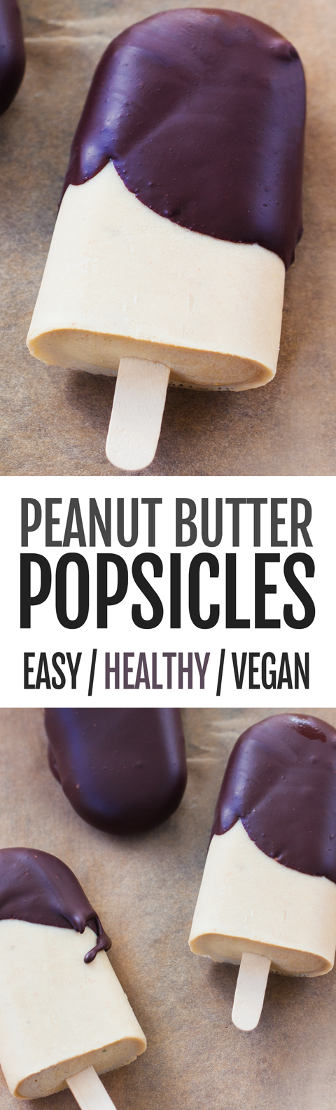 6 Ingredient Peanut Butter Pudding Pops Recipe