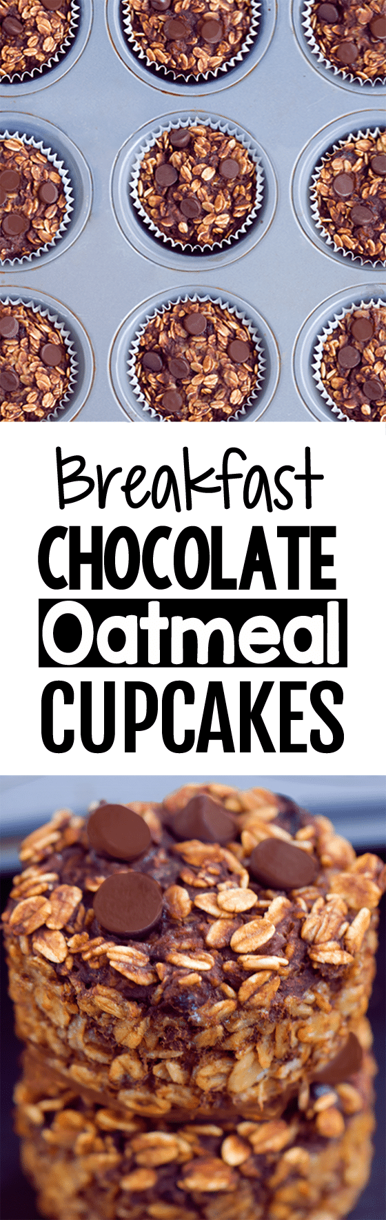 Meal Prep Breakfast Chocolate Oatmeal Cupcakes To Go Recipe