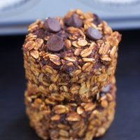 Chocolate Breakfast Oatmeal Cupcakes – To Go!
