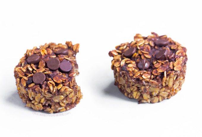chocolate breakfast cupcakes