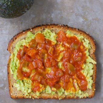 Avocado Monster Sandwiches