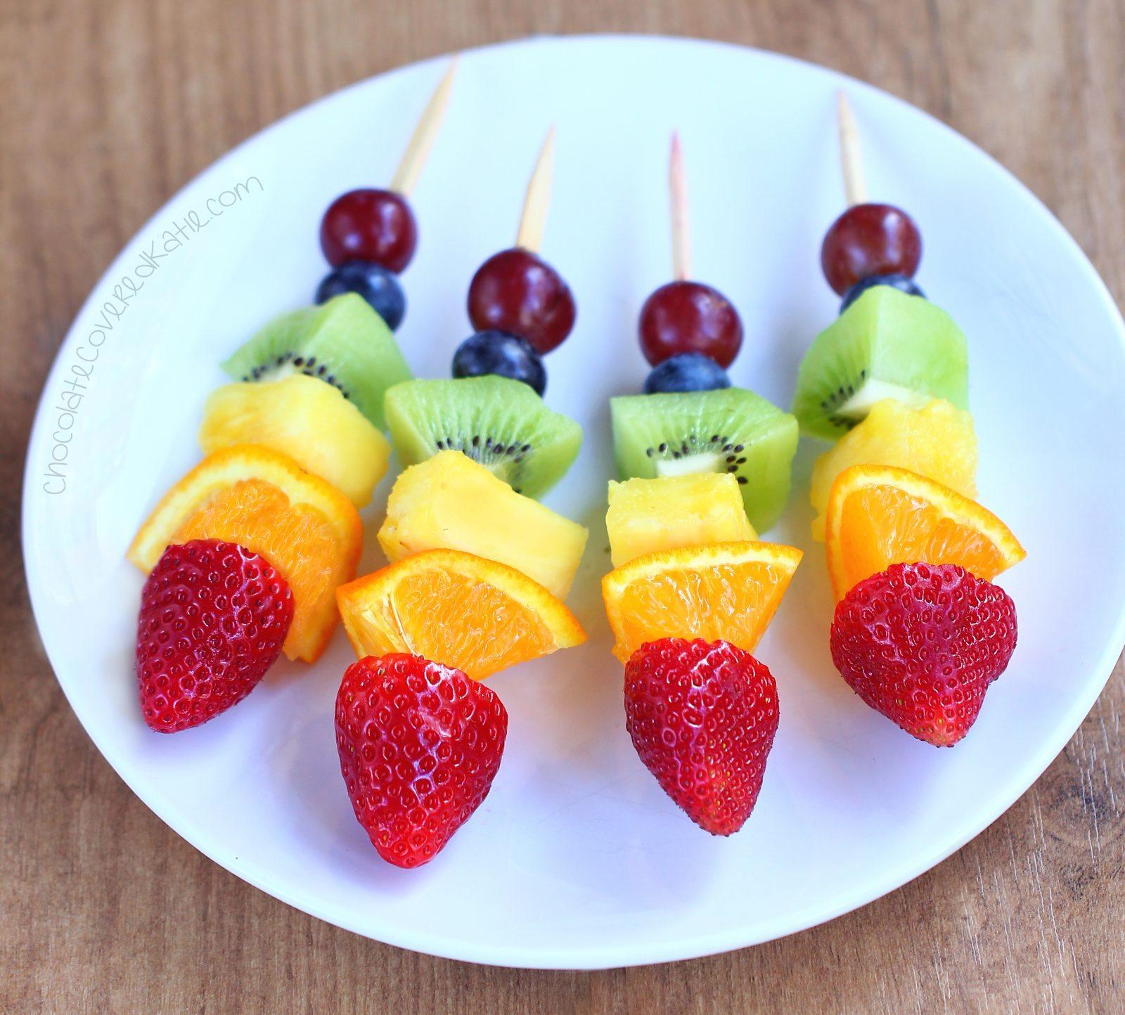 healthy fruit juice recipe fruit kabobs