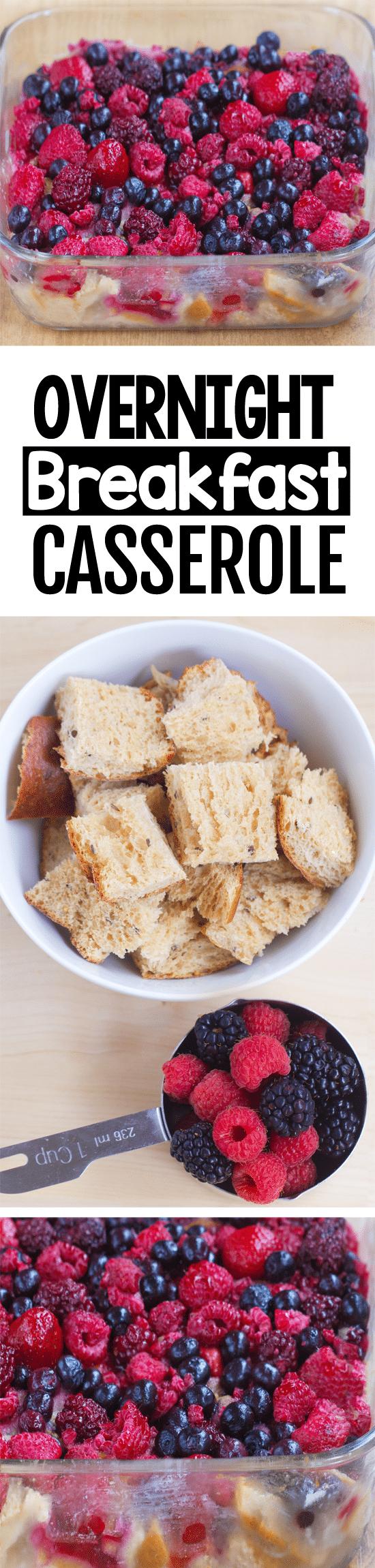 Easy Healthy Overnight Breakfast Casserole Recipe