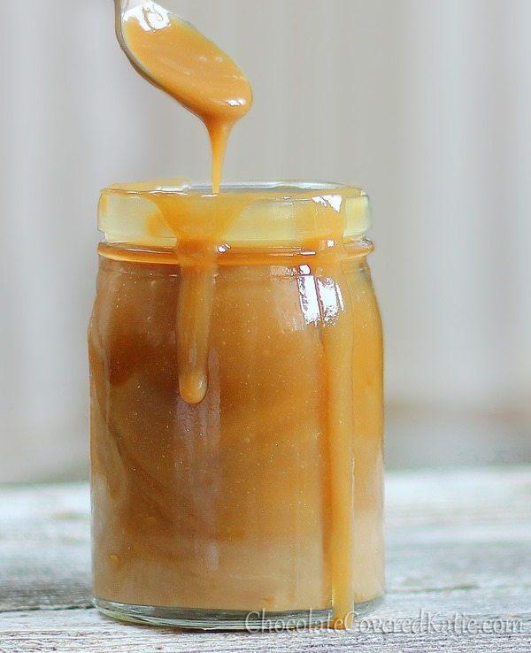 Healthy Caramel Sauce