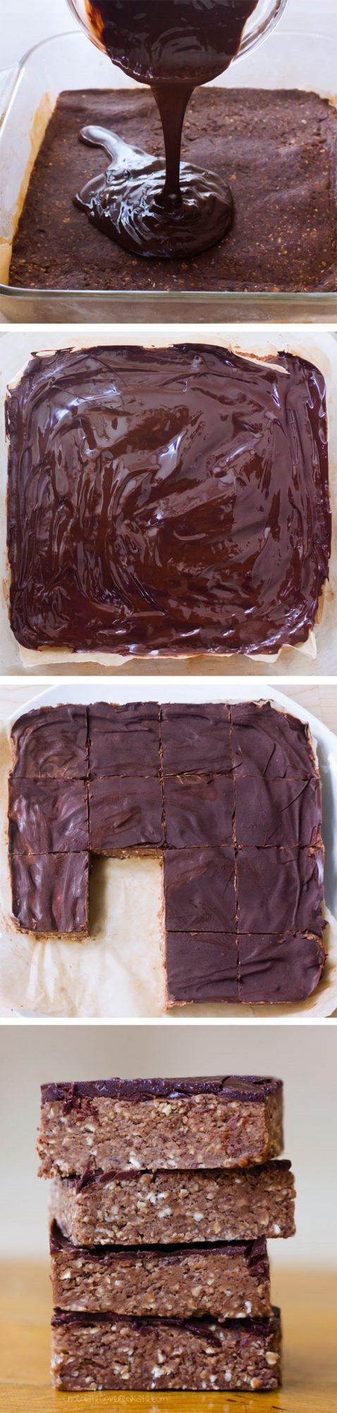 Chocolate Brownie Breakfast Bars