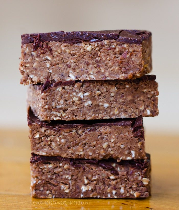 Chocolate Brownie Breakfast Bars