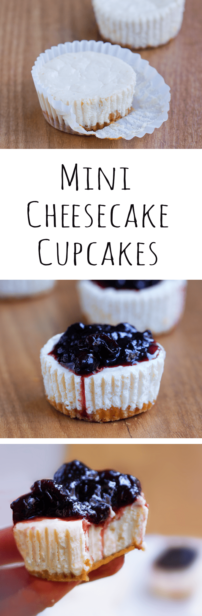 Cheesecake Cupcakes - Ingredients: 12 oz cream cheese, 1 cup yogurt, 1 tsp vanilla extract, 2 1/2 tbsp... Full recipe: https://chocolatecoveredkatie.com @choccoveredkt