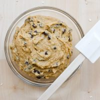 Raw Cookie Dough – To Eat With A Spoon!