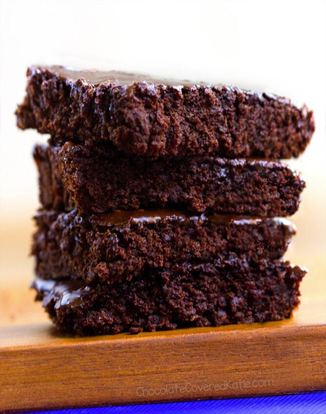 The Best Chocolate Vegan Brownies Ever