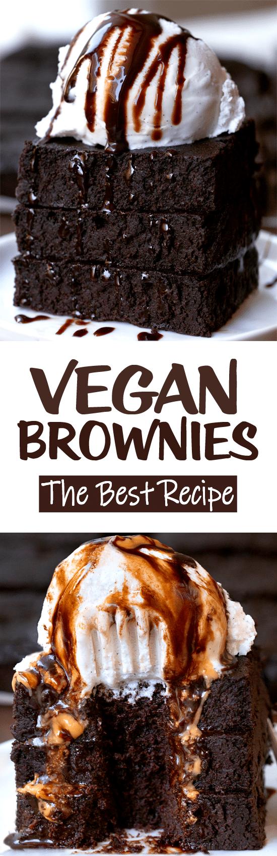 The Best Easy Healthy Chocolate Vegan Brownies Recipe