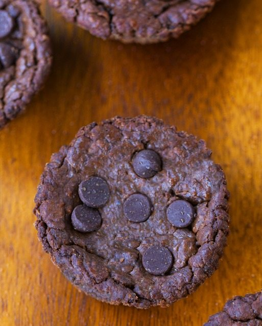 chocolate blender muffins