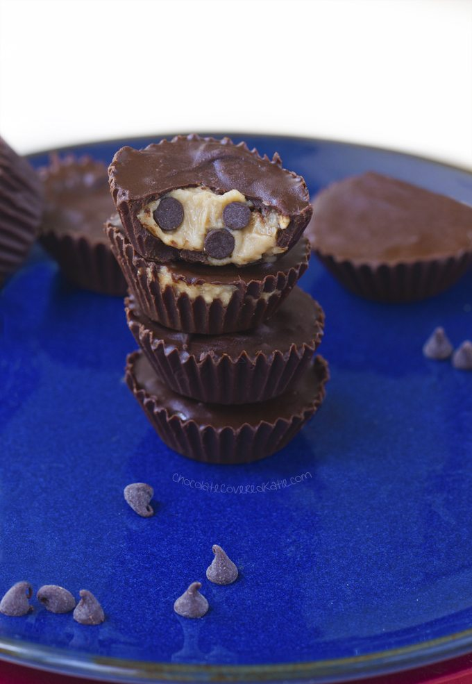 cookie dough peanut butter cups