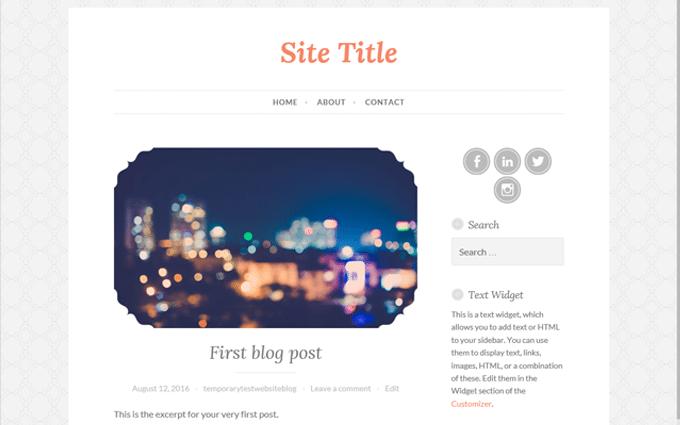 how to start a blog wordpress