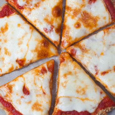Low Carb Keto Cauliflower Pizza Crust Recipe