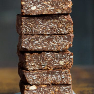 No Bake Chocolate Oatmeal Bar Recipe