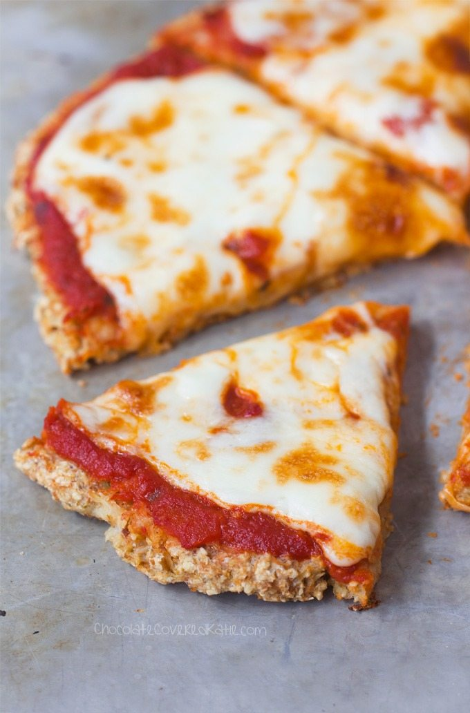 Cauliflower pizza crust just 5 ingredients cauliflower crust ingredients 1 cauliflower 14 cup water 1 tsp forumfinder Image collections