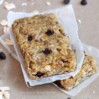 Easy Homemade Granola Bars Recipe