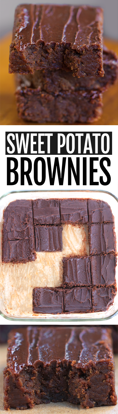 Secretly Healthy Sweet Potato Brownies Recipe