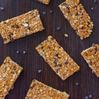 Clean Eating Pumpkin Granola Bars